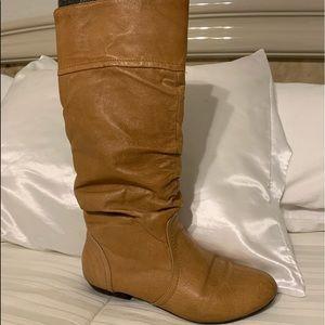 Steve Madden Cognac tall boots